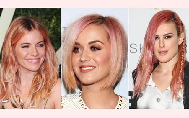 """O """"loiro rosê"""" ou """"rose gold hair"""" é uma das tendências em alta para a coloração dos cabelos. Curte, mas acha difícil harmonizar makes? Dei umas dicas chave de beleza para quem está apaixonada por essa tonalidade de cabelo."""