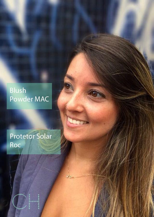 #BelezadoBrasil • A Nadia apostou no básico blush para um efeito solar e infalível!