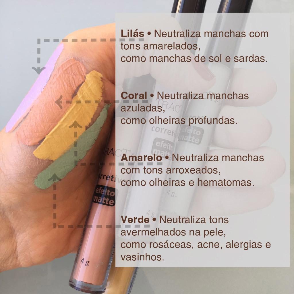 Carolina Habeyche corretivos coloridos dicas para maquiadoras profissionais dicas para produtores de cosméticos mercado da beleza  criar sua própria linha de maquiagem