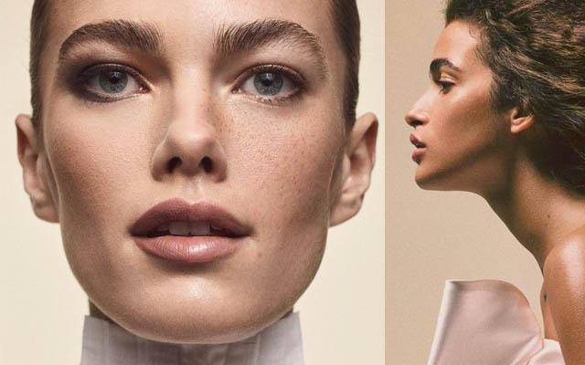 tendência para bases e pele iluminada em 2018