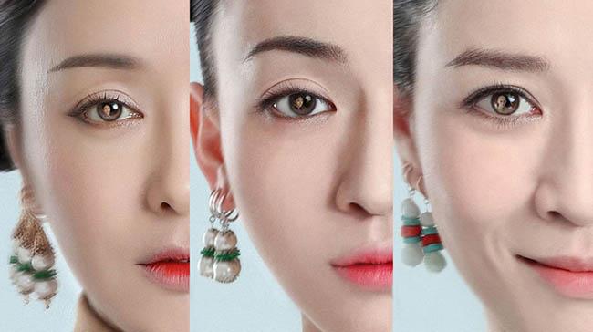 'Story of Yanxi Palace' maquiagem inspirada